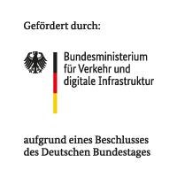 Gefördert durch Bundesministerium für Verkehr und digitale Infrastruktur