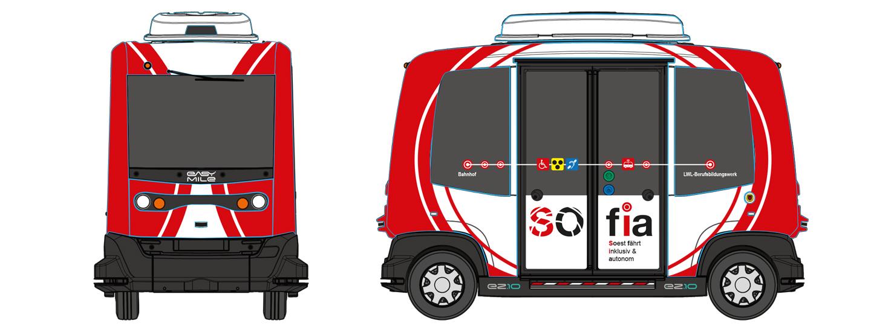 SOfia Fahrzeug