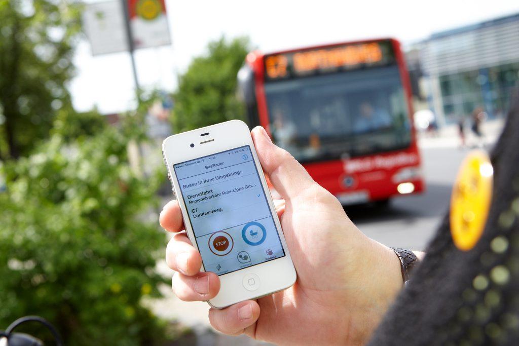 Navigation per App mobil info