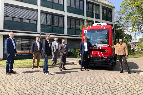 Pressetermin SOfia in Soest